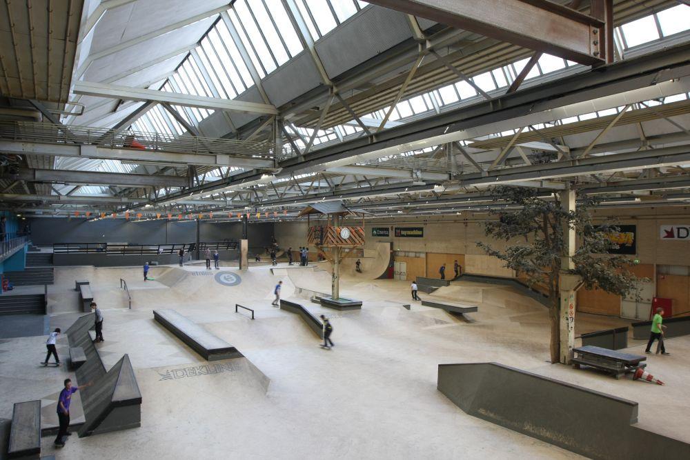 Dutch Design Week Area 51 Skate Park Eindhoven