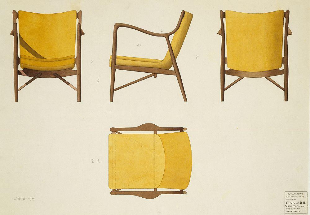 Furniture for the Senses Finn Juhl 100 Model 45