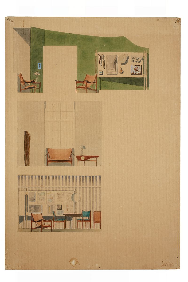 Furniture for the Senses Finn Juhl 100 Watercolour