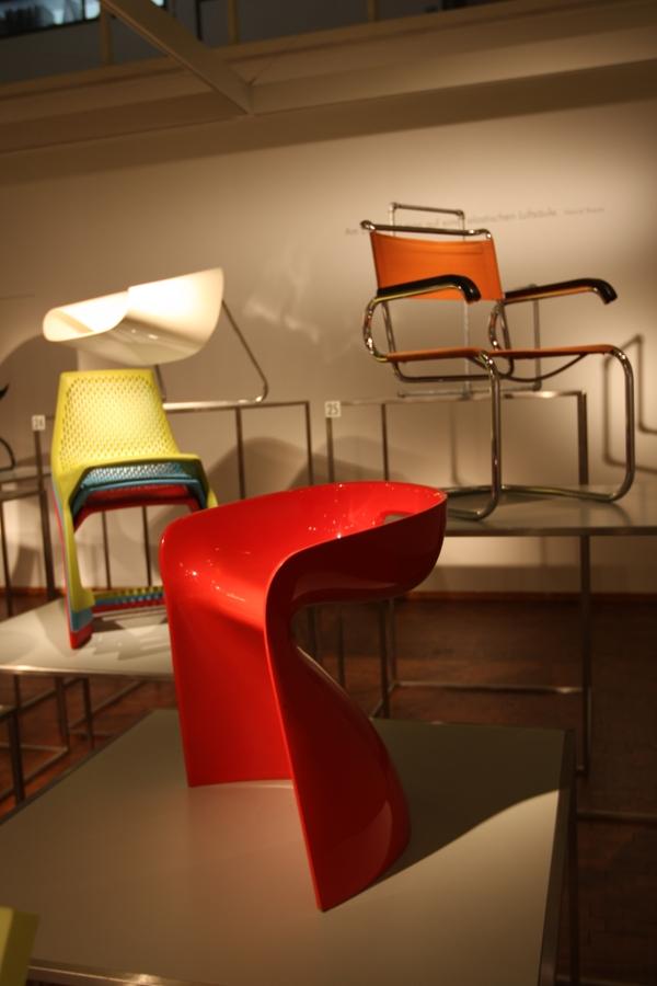 Bauhaus Archiv Berlin Stühle ohne Beine Winifred Stäb
