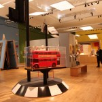 V&A Museum London British Design 1948-2012 Innovation in the Modern Age london bus