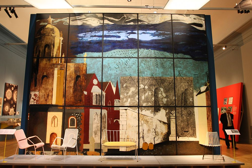 V&A Museum London British Design 1948-2012 Innovation in the Modern Age london john piper the englishmans home