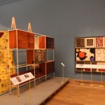 V&A Museum London. British Design 1948-2012: Innovation in the Modern Age An excellent room divider by Robin Day
