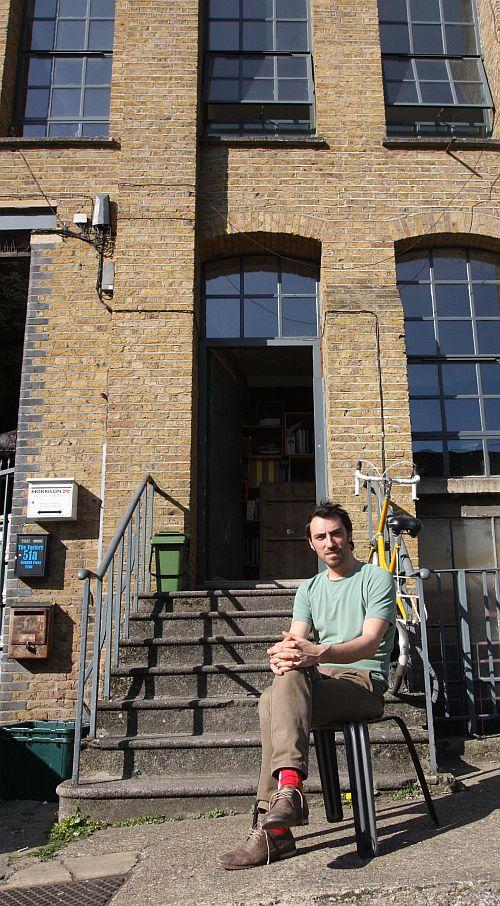 harry thaler pressed chair moormann london