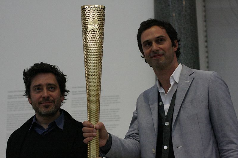 barber osgerby olympic torch