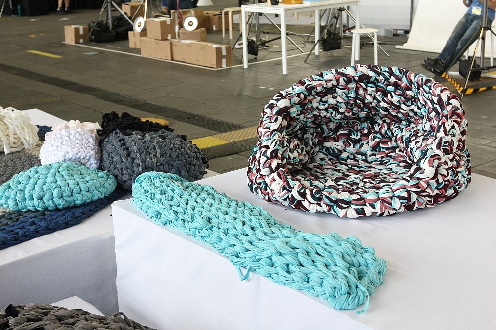 DMY Berlin 2012 Andrea Brena Knitted Army