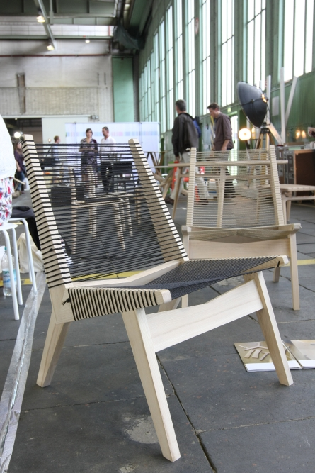 DMY Berlin 2012 Upholstered Chair by Jooyeon Lee