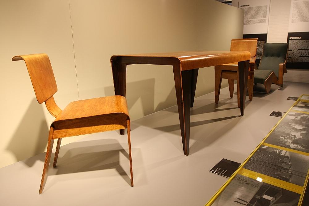Marcel Breuer design and architecture Bauhaus dessau Isokon moulded plywood chair