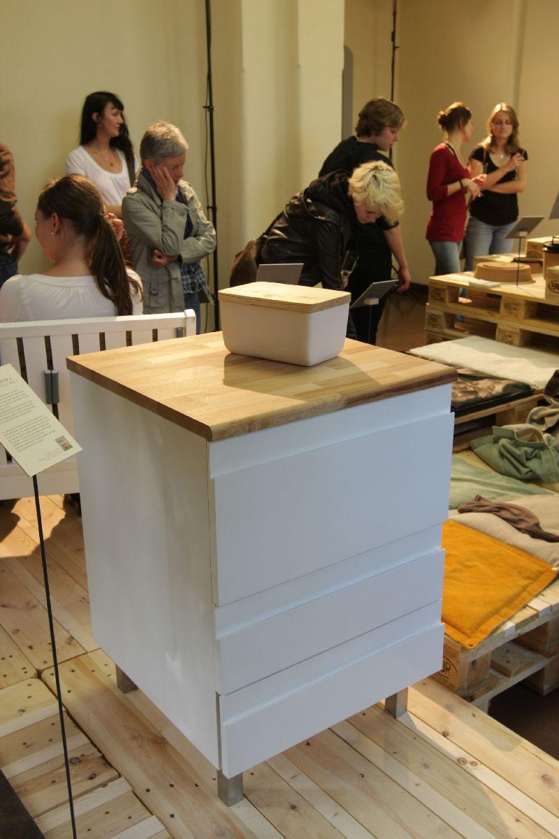 Bauhaus University Weimar 2012 Diploma Exhibition Speiseschrank by Nadin Jahn
