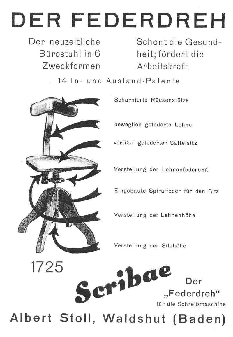 Der Federdreh by Albert Stoll, Waldshut (Baden)
