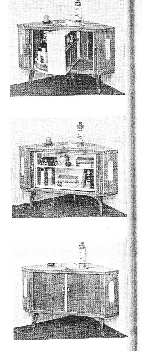 Lost Furniture Design Classics Sesam-Bar by Oeseder Möbel-Industrie in use