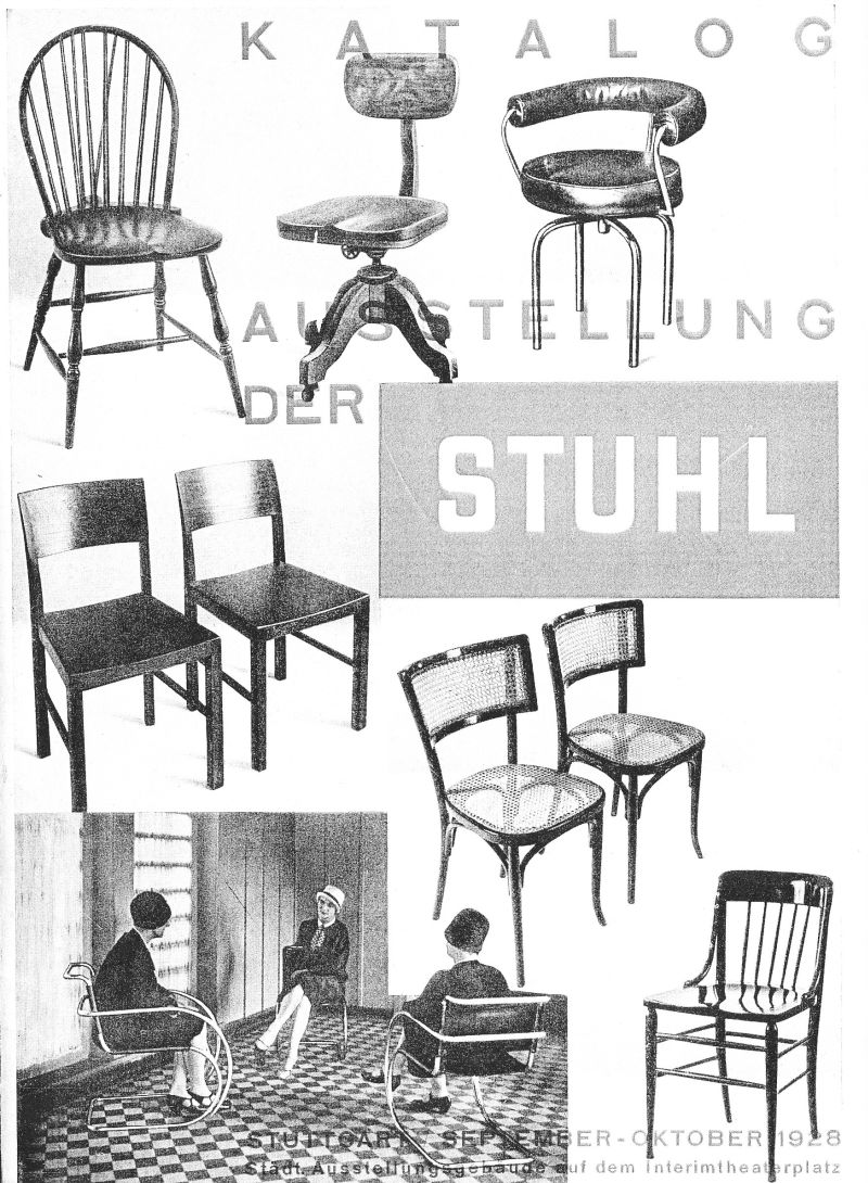 der stuhl stuttgart designer chairs in a time before. Black Bedroom Furniture Sets. Home Design Ideas
