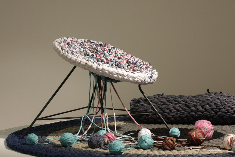 DMY Berlin Awards and Jury Selection 2012 Bauhaus Archiv Berlin Knitted Army Andrea Brena