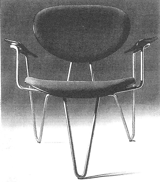 Lost Furniture Design Classics Office Furniture by Arne Jacobsen for American Scandinavian Society Chair