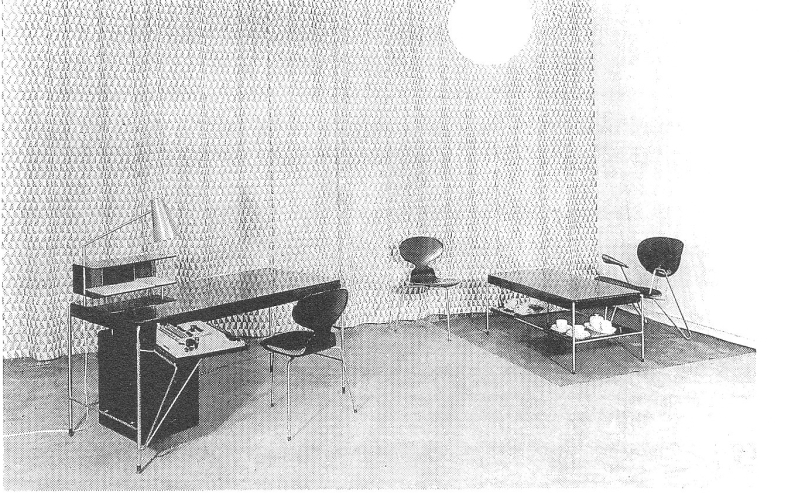 Lost Furniture Design Classics Office Furniture by Arne Jacobsen for American Scandinavian Society