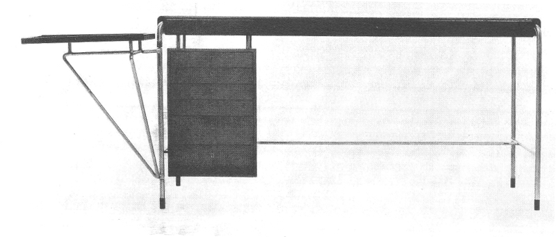 Lost Furniture Design Classics Office Furniture by Arne Jacobsen for the American Scandinavian Society desk