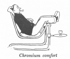 How to live in Flat W Heath Robinson and K R G Browne Chromium Comfort