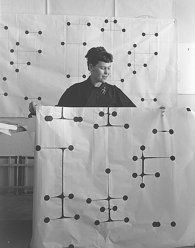 Happy 100th Birthday Ray Eames Dots