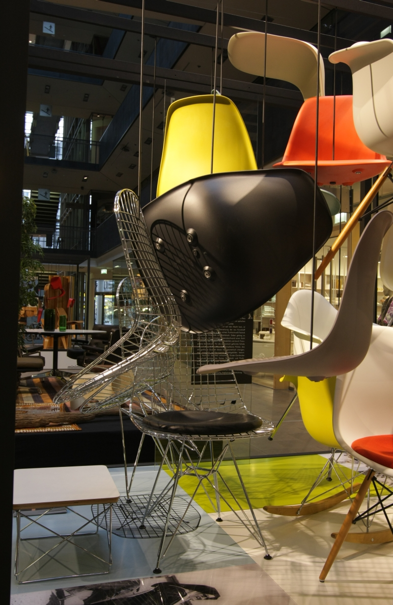 Eames by Vitra exhibition chairs