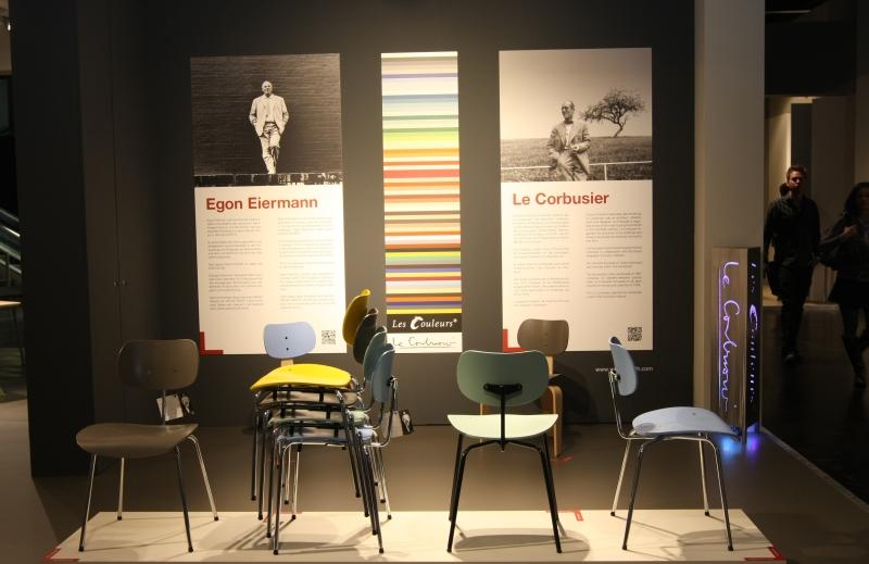 IMM Cologne 2013  Wilde+Spieth Egon Eiermann Le Corbusier Les Couleurs