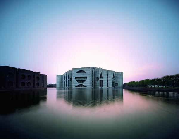 National Assembly Building in Dhaka, Bangladesh, Louis Kahn 1962–83