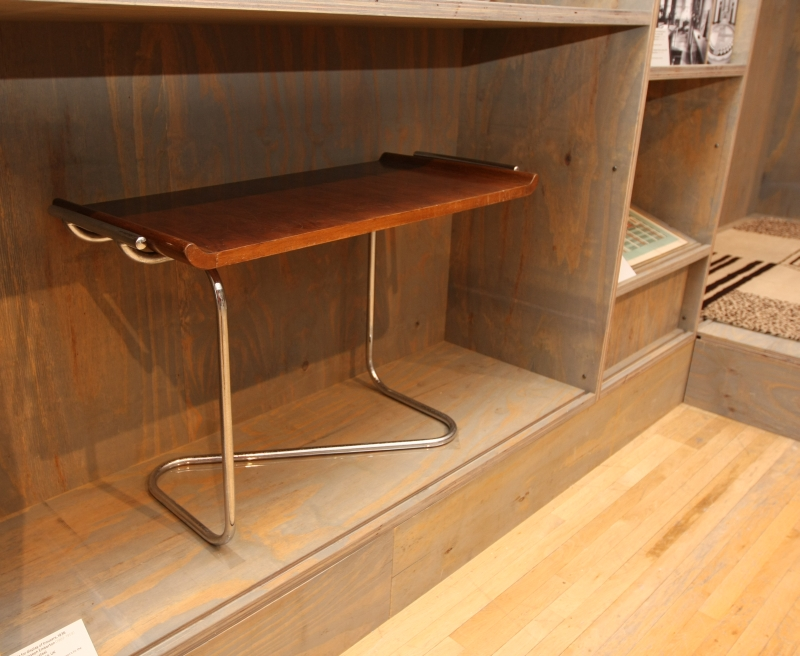 Table for display of trousers Joseph Emberton