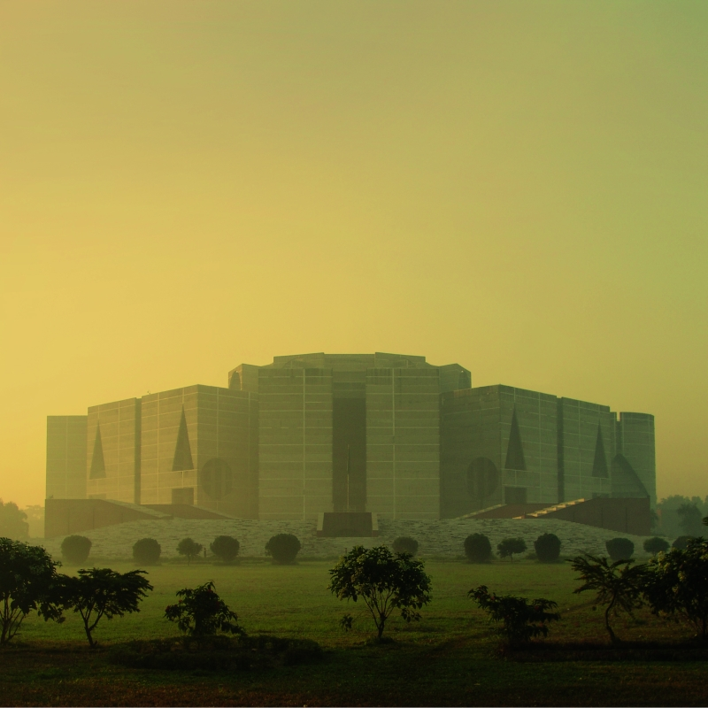 Vitra Design Museum Louis Kahn The Power of Architecture National Assembly Building in Dhaka