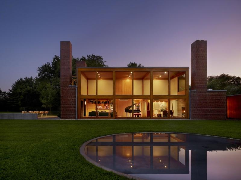 Vitra Design Museum Louis Kahn The Power of Architecture Steven und Toby Korman House Fort Washington Pennsylvania