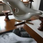 Eames by Vitra Wasserschloss Klaffenbach Chemnitz La Chaise