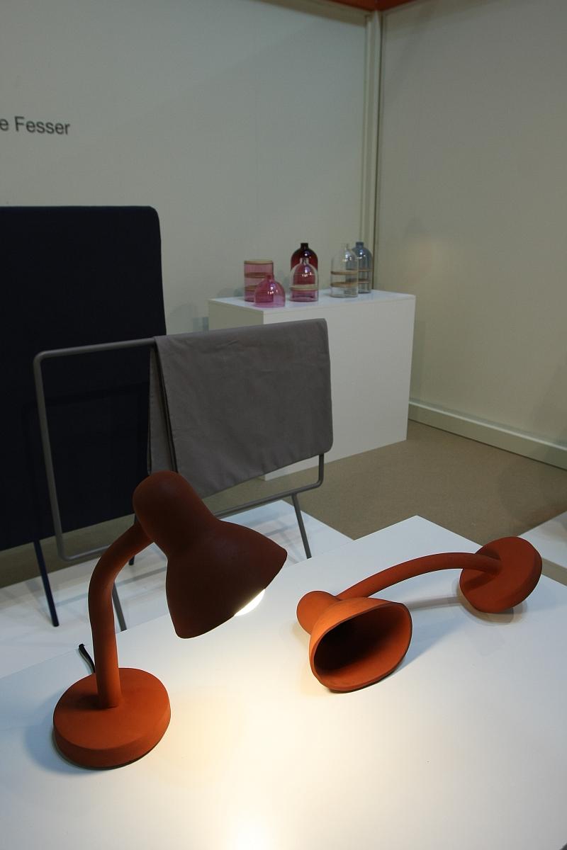 Milan Design Week 2013 Contrast Thomas Schnur Rubber Lamp