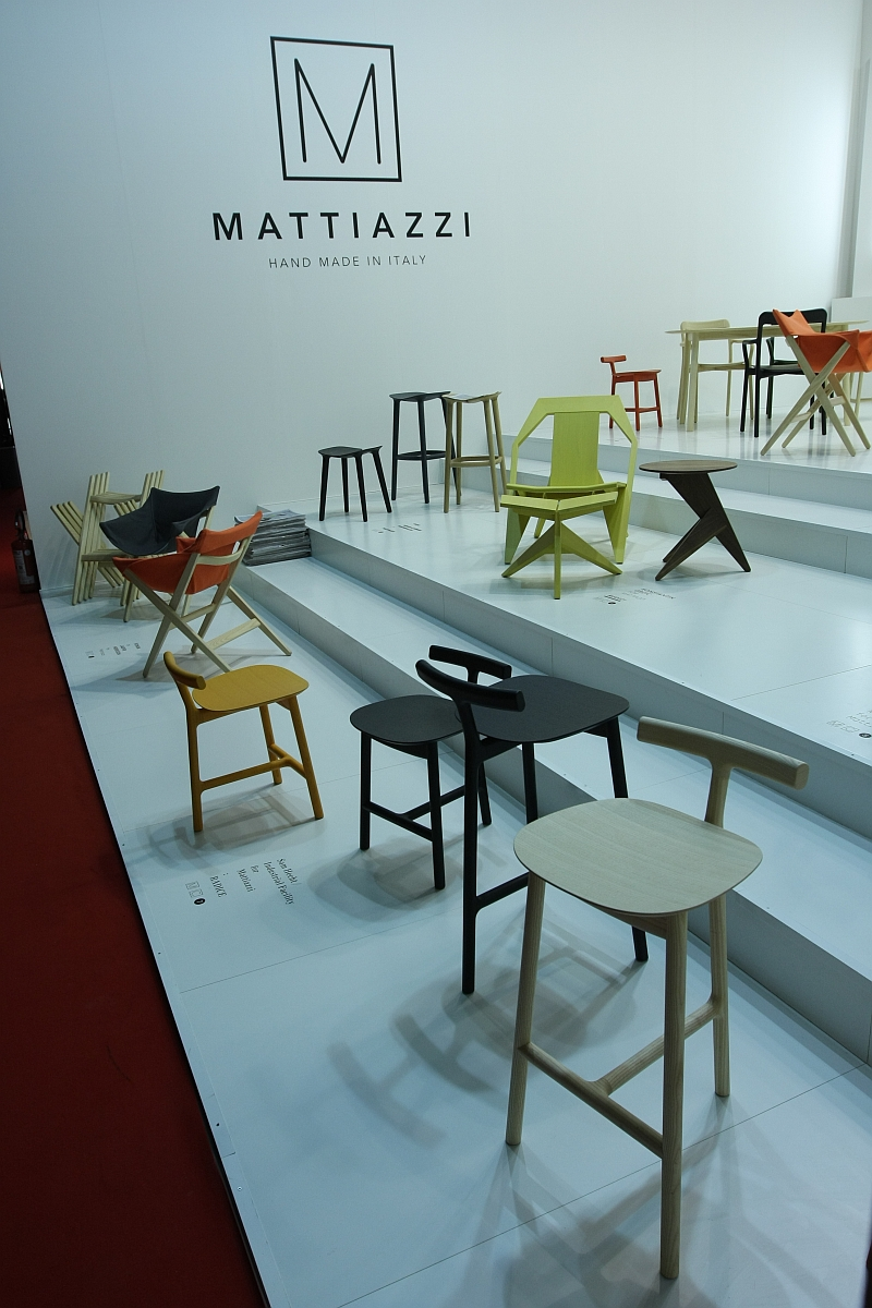 Milan Design Week 2013 The Mattiazzi Collection