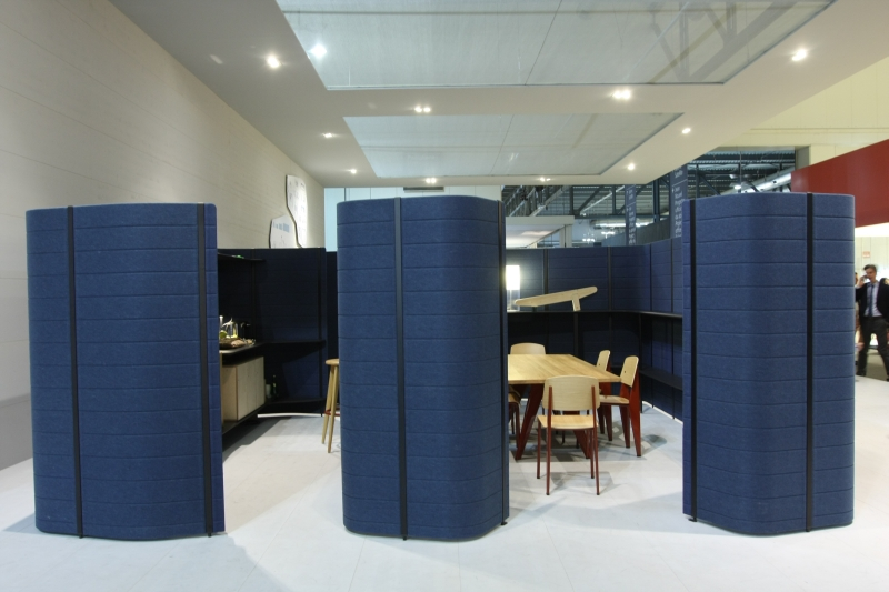 Milan Design Week 2013 Workbay Office by Ronan and Erwan Bouroullec for Vitra