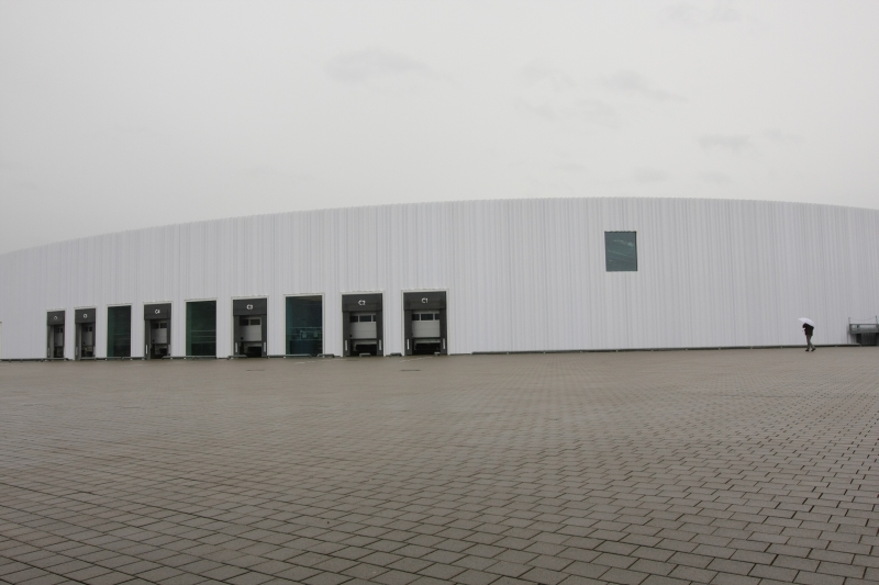 SANAA Factory Building Vitra Shop Weil am Rhein