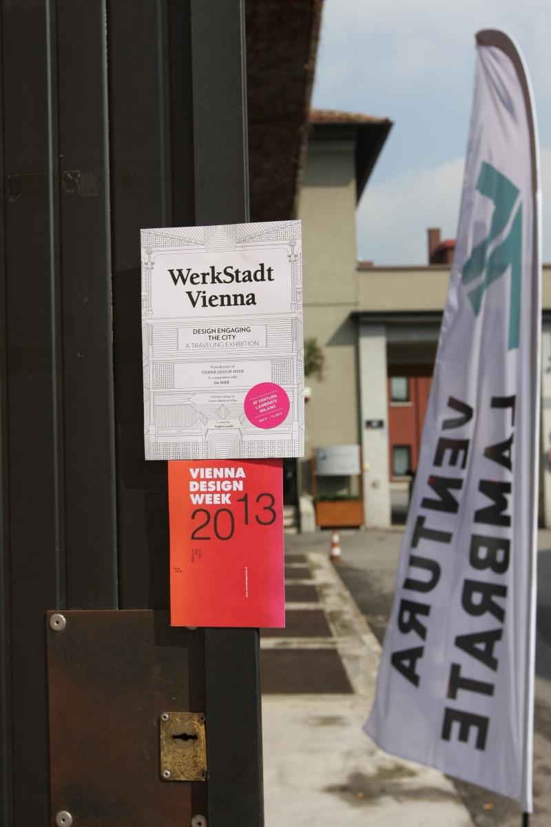 Werkstadt Vienna Milan Design Week 2013