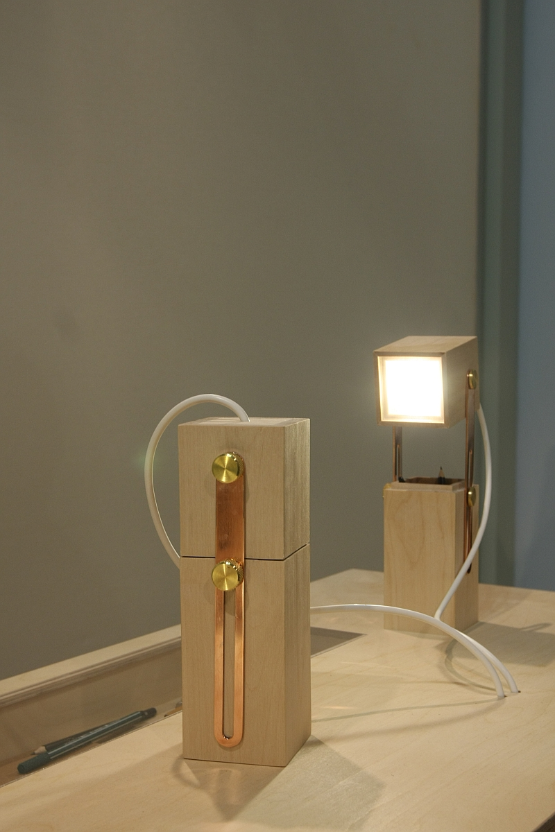Milan Design Week 2013: Pencil Light by Caroline Olsson at Salone