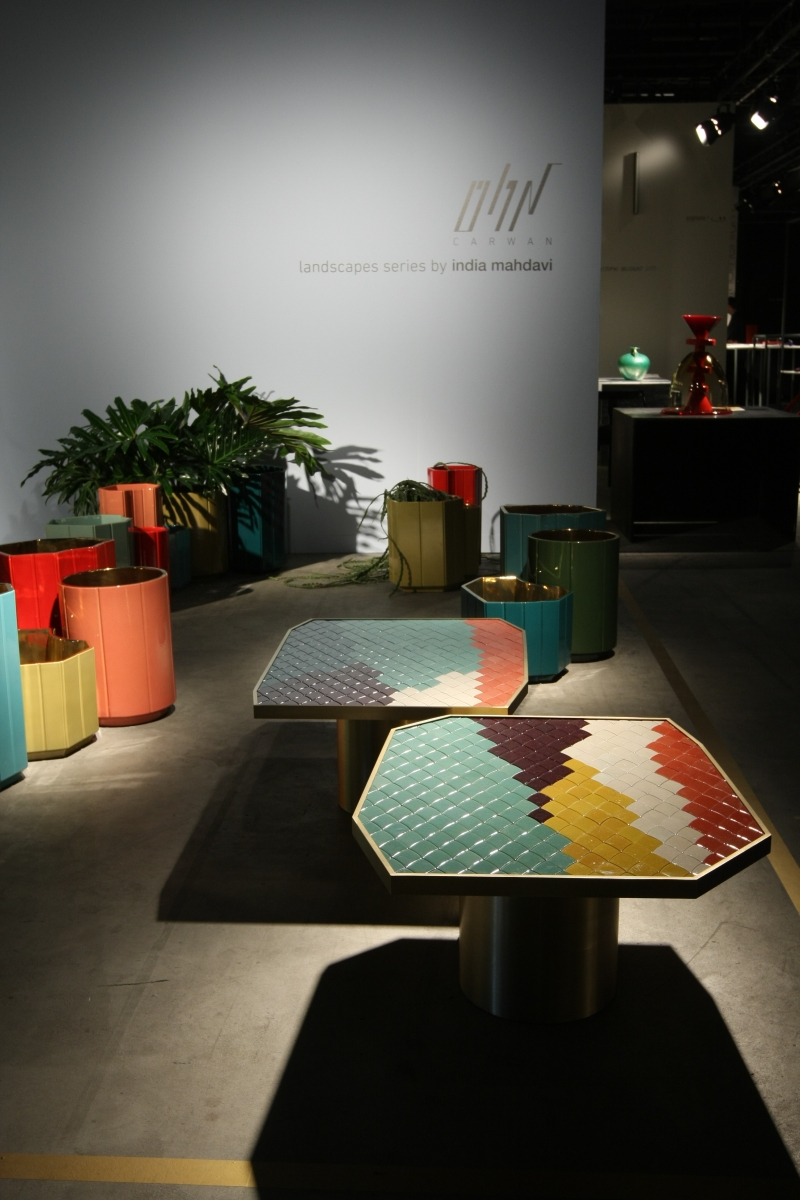 Design miami basel 2013 interview carwan gallery smow for India mahdavi furniture