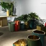 Design Basel 2013 Carwan Gallery Landscape Series India Mahdavi Vases Gold