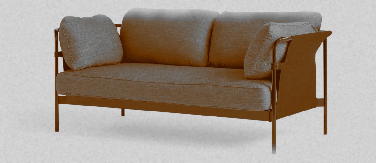 Can Sofa by Ronan et Erwan Bouroullec for HAY (original photo from The Historia Supellexalis)