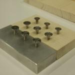 Swiss Design Awards 2013: brunner mettler 123 a collection of universal screws