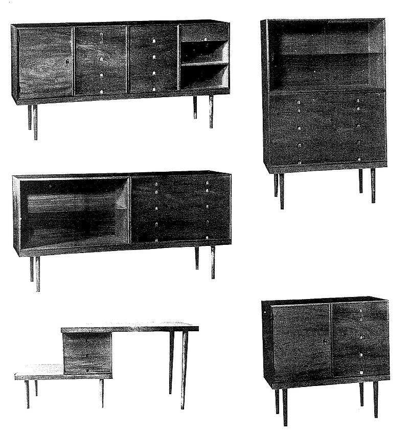 Lost Furniture Design Classics Case Furniture By Eero Saarinen And Charles Eames Smow Blog