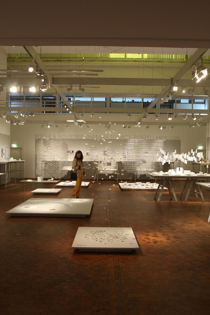 Bauhaus Archiv Berlin Poesie und Industrie Barbara Schmidt Porzellandesign