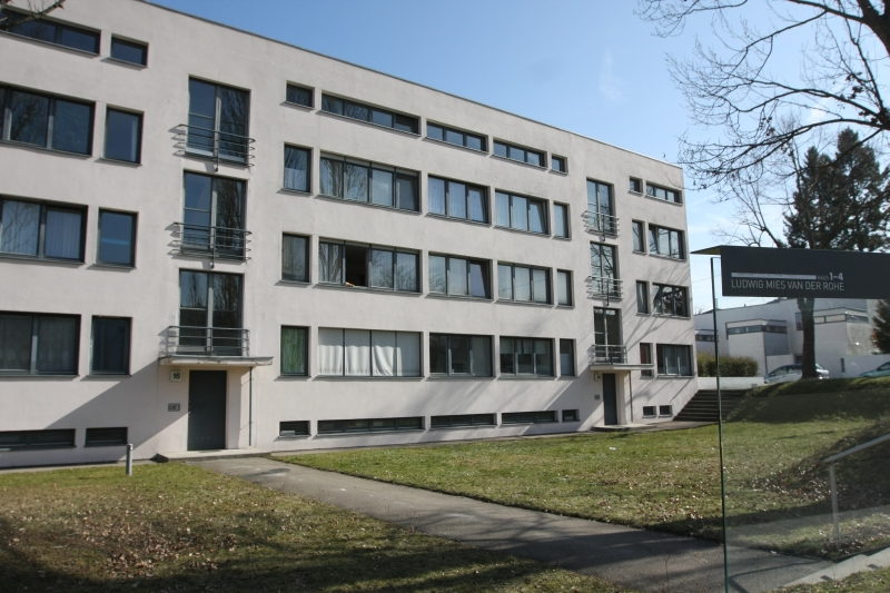Smow blog english weissenhofsiedlung for Stuttgart architecture