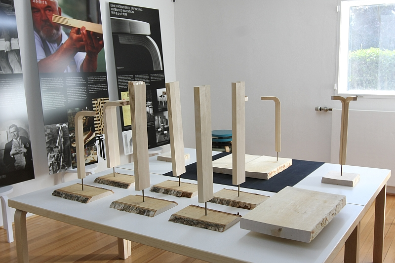 Vitra acquire Artek Eames meets Aalto Leg Moulding