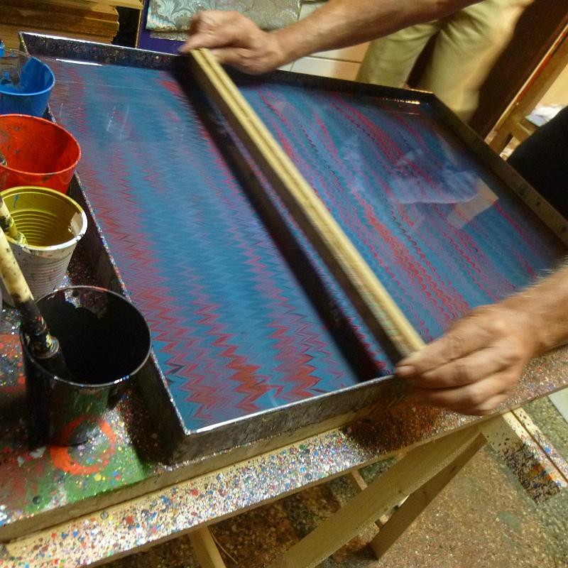 Passionswege à la Firenze marbled paper