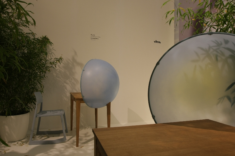 Vitra Orgatec 2012 Hella Jongerius Sphere Table