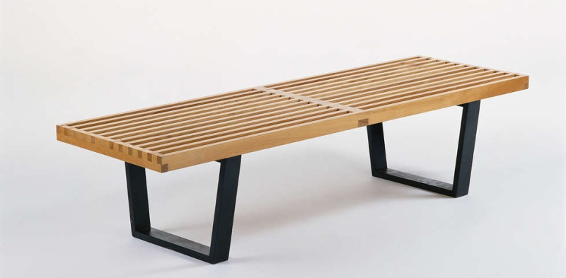 george nelson bench