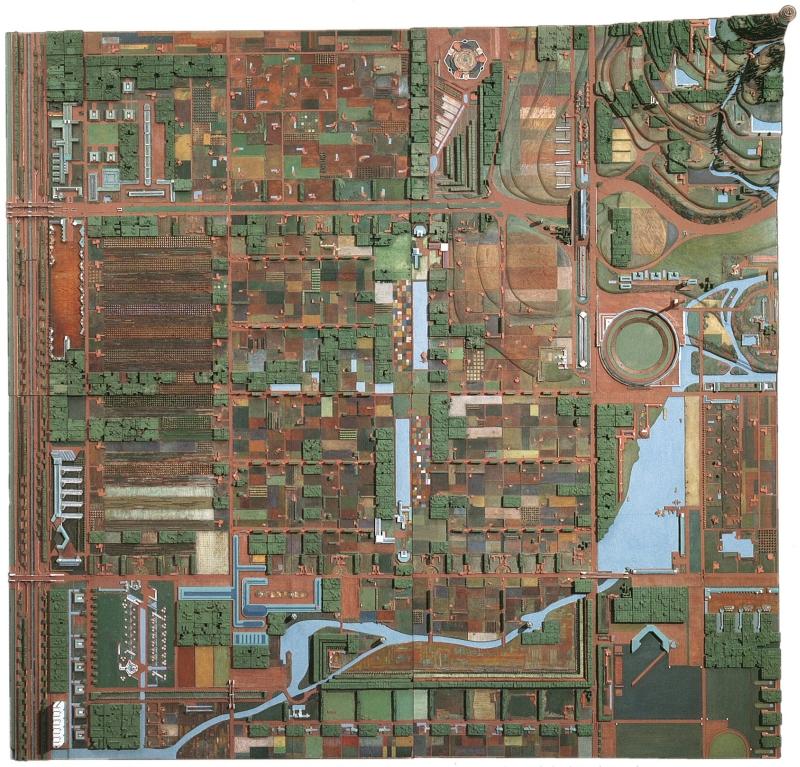 Frank Lloyd Wright Broadacre City. Project, 1934–35
