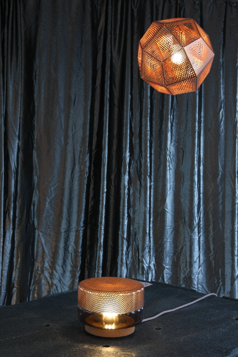 Passagen Cologne 2014 Alle Metalle All Metal Tom Dixon Etch Lamp shade Light drop e27