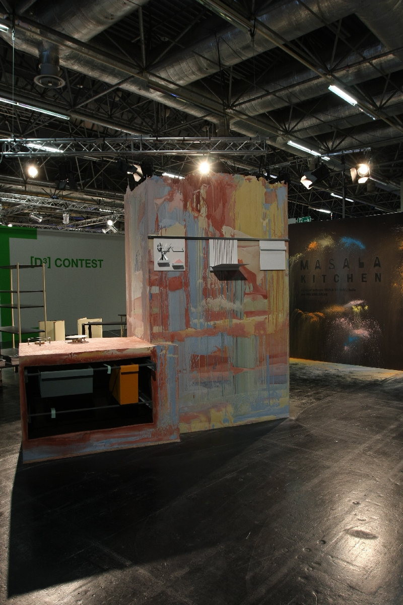 (smow) blog compact IMM Cologne Special HfG Karlsruhe Masala Kitchen and K.O. Project