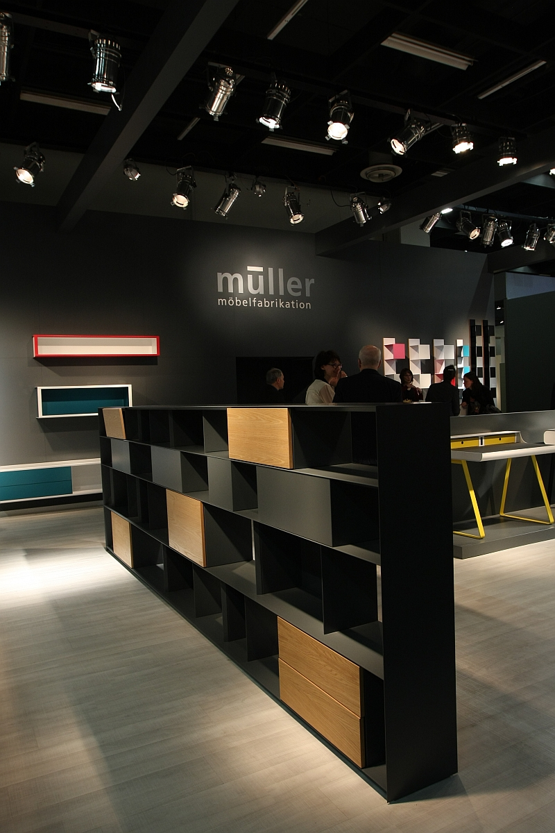(smow) blog compact IMM Cologne Special Müller Möbelfabrikation Stack